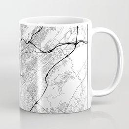 Minimal City Maps - Map Of Birmingham, Alabama, United States Coffee Mug