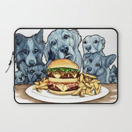 Burger Dogs Laptop Sleeve