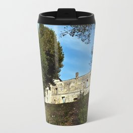 Abbey in south-west of France Travel Mug