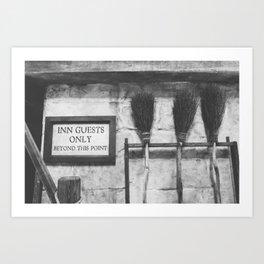 INN Guest Only Art Print