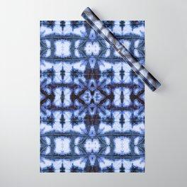 Blue Oxford Shibori Wrapping Paper