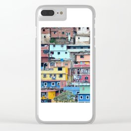 Venezuelan Tetris Clear iPhone Case