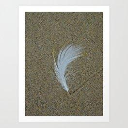 Sand Surfer Art Print