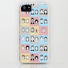 Sad Movie Couples iPhone (5, 5s) Slim Case
