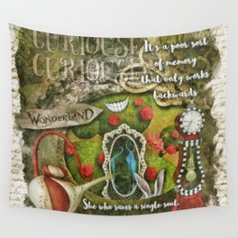 Looking Glass Wall Tapestry
