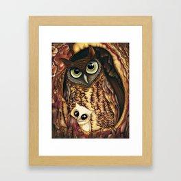 Owl's Hole Framed Art Print