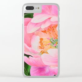 Bold and Beautiful by Teresa Thompson Clear iPhone Case