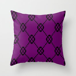 Royalty is key Throw Pillow