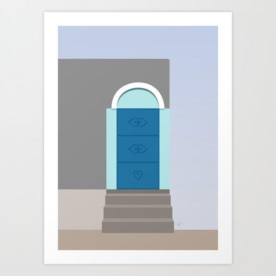 Doors of Oman #5 - Jebel Shams by carrielymandesigns