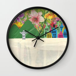 He Does Exist Wall Clock