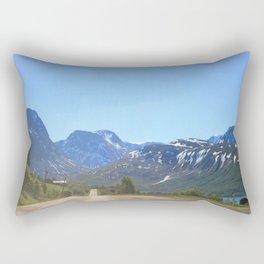 Never Over For Me Rectangular Pillow