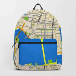 Manhattan Map Design Backpack