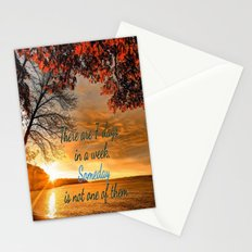 Someday is not a Day! Stationery Cards