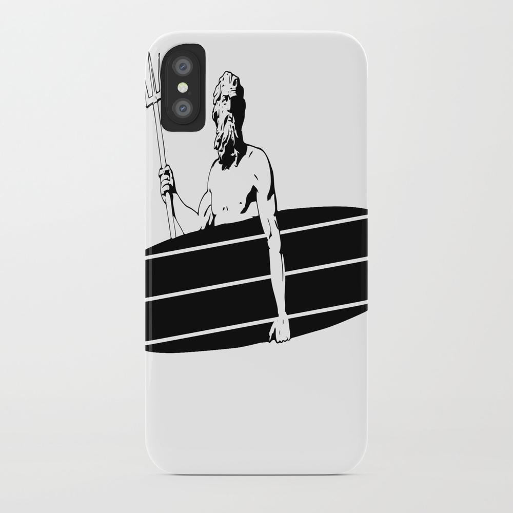 Surf God Phone Case by Saltysurfsalad PCS8309865