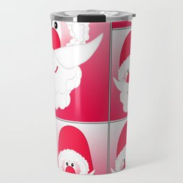Santa Claus Collage CB Travel Mug