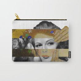 Klimt's The Kiss & Rita Hayworth with Glenn Ford Carry-All Pouch