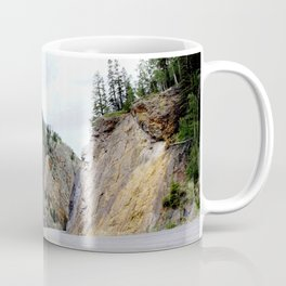 Drive Around the Curve onto a Shelf Above the Spectacular, but Frightening, Uncompahgre Gorge Coffee Mug