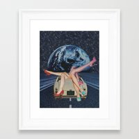 trip Framed Art Prints featuring Trip by Michelle Cordes