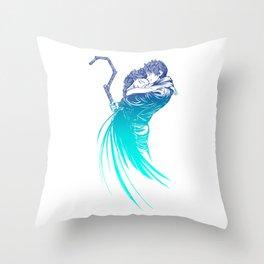 Frozen Fantasy Throw Pillow