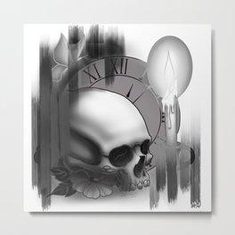.Momento Mori.2 Metal Print