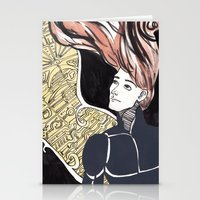 human Stationery Cards featuring HUMAN by Dulevartiano