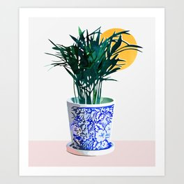 Plant Your Dreams #painting #watercolor Art Print