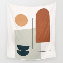 Minimal Shapes No.38 Wall Tapestry