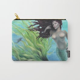 Calypso Nude Mermaid Underwater Carry-All Pouch
