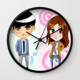 Cute pair Wall Clock