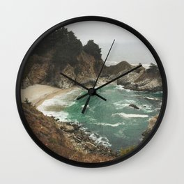 Big Sur - Julia Pfeiffer Wall Clock
