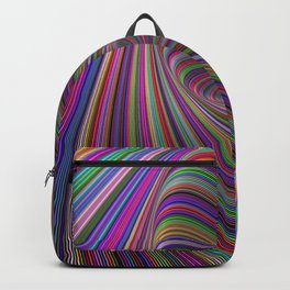 Psychedelic colors Backpack