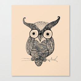 An Owl.  Canvas Print