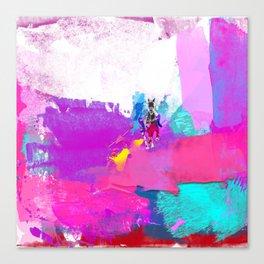 polo abstract Canvas Print