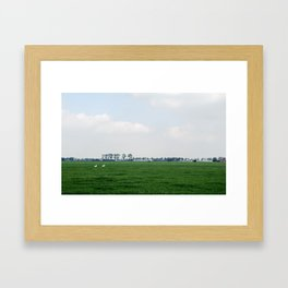 Netherlands 4 Framed Art Print