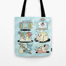 The Gangs all Here Tote Bag