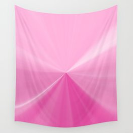 Pink Bubble Gum Pinch Point Wall Tapestry