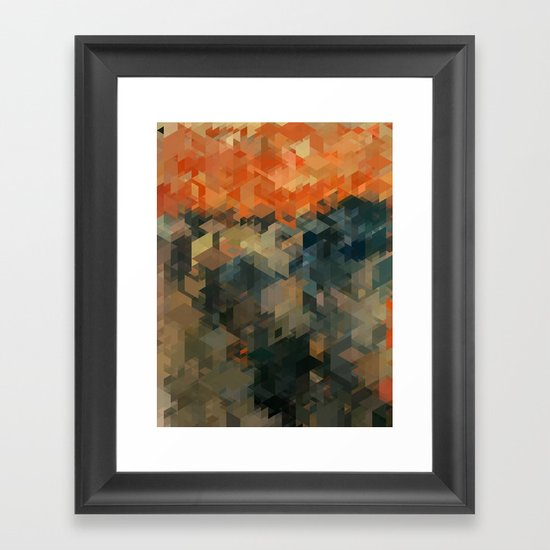 Panelscape Iconic - The Scream Framed Art Print