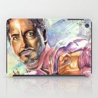stark iPad Cases featuring Tony Stark by Trenita
