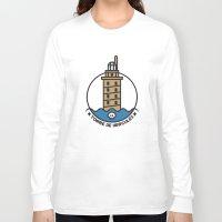 hercules Long Sleeve T-shirts featuring Torre de Hercules by DamianVF