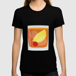 Old Fashioned Cocktail T-shirt