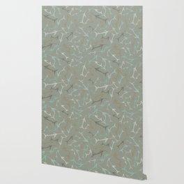 Fish Bone Collection - Sand Stone Wallpaper
