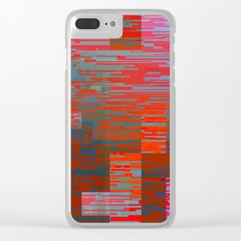digitally deliberate Clear iPhone Case