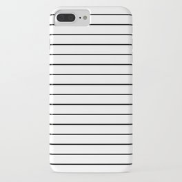 Minimal Stripes iPhone Case