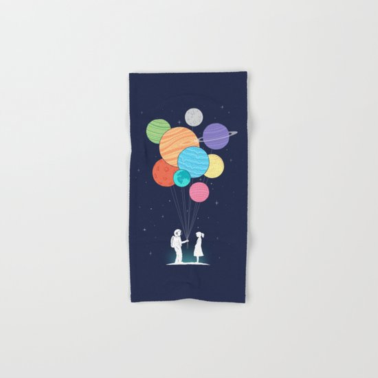 You are my universe Hand & Bath Towel