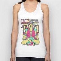 death star Tank Tops featuring Holy death star by Tshirt-Factory