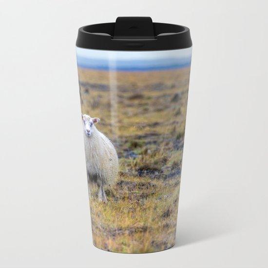 BAHHH Metal Travel Mug