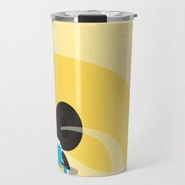 Make it up as you go along - yellow Travel Mug