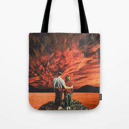 Hearts on fire Tote Bag