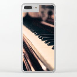 Bach's Piano Clear iPhone Case