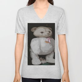 Teddy Bear Unisex V-Neck